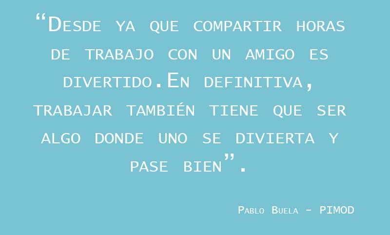 Emprender con amigos según Pablo Buela